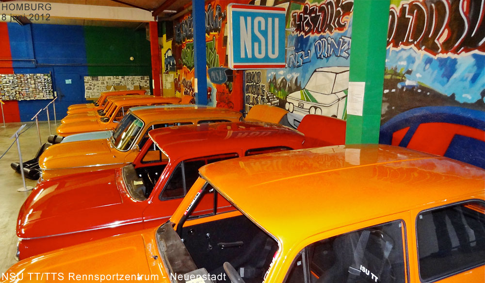 Showroom NSU TT/TTS